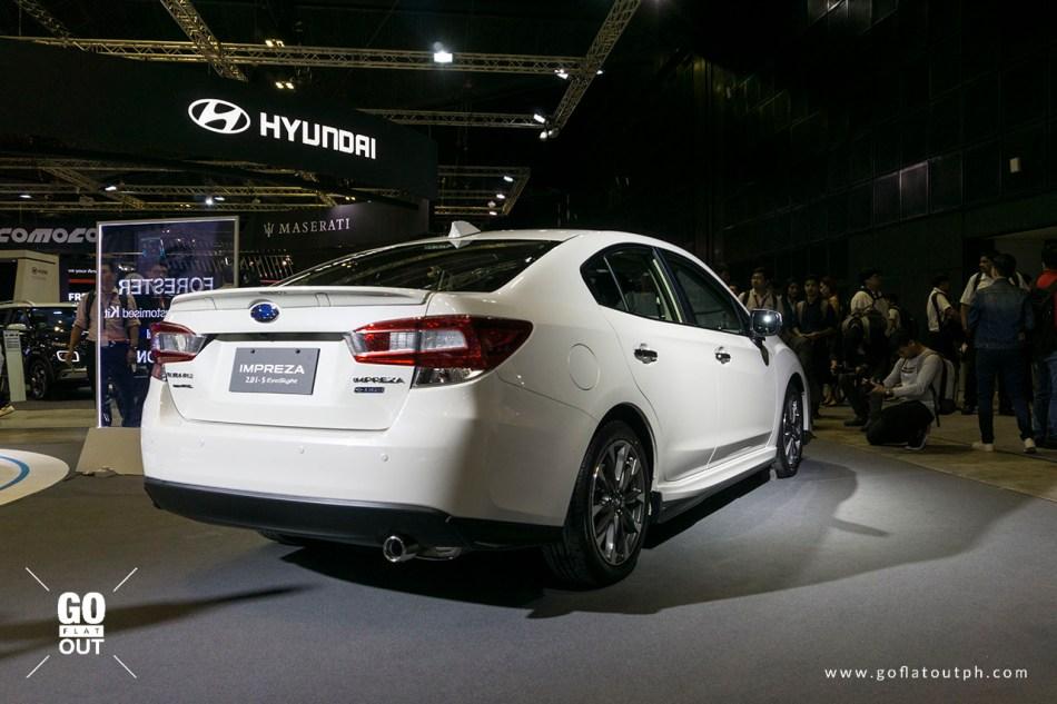 2020 Subaru Impreza 2.0i-S EyeSight Exterior