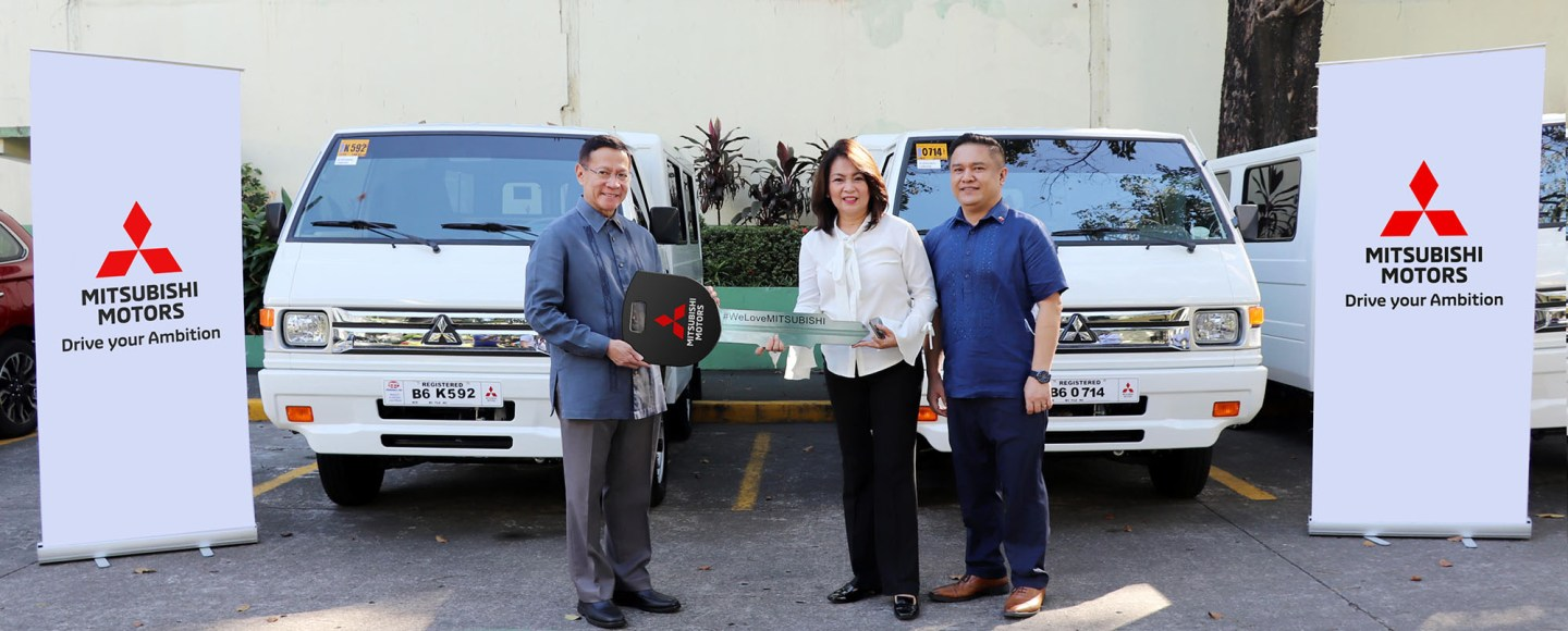 DOH Adds The Mitsubishi Xpander And L300 Euro IV To Its Fleet