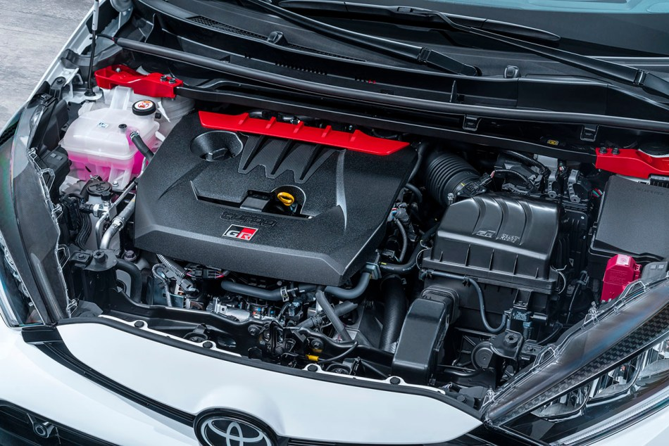 2020 Toyota GR Yaris Engine