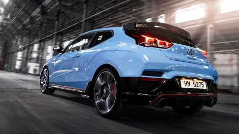 Hyundai Veloster N Hot Hatch Now Available With 8-Speed Dual-Clutch Transmission