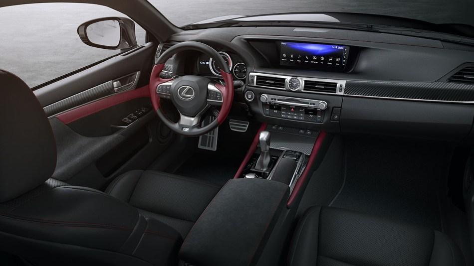 2020 Lexus GS 350 Black Line Interior