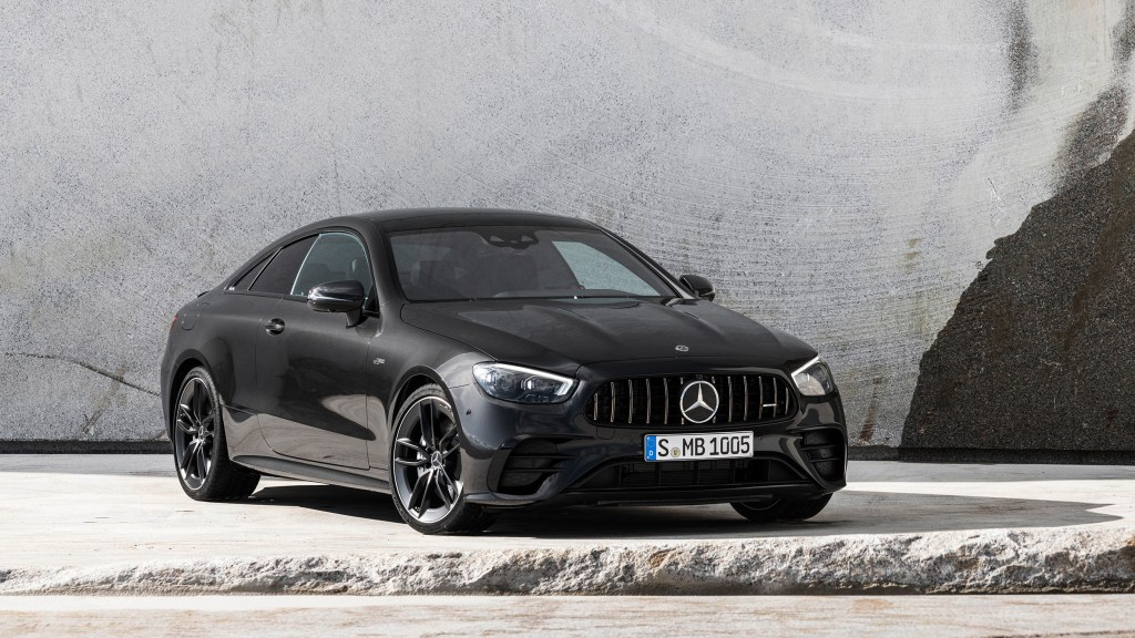 2021 Mercedes-Benz E-Class Coupe and Convertible Gets A Fresher Face