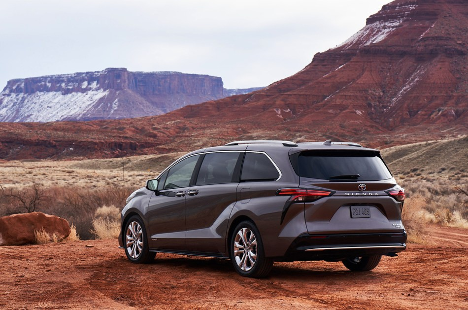 2021 Toyota Sienna Limited Exterior
