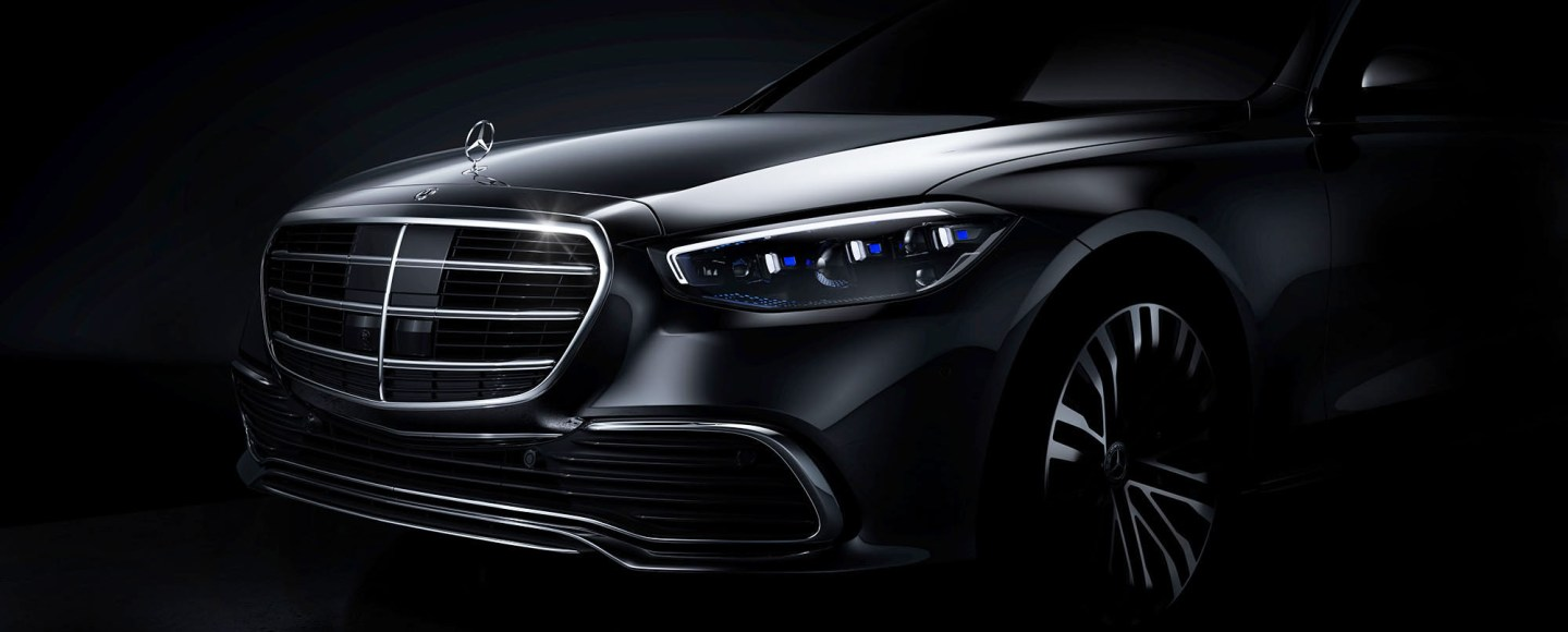 Next-Generation Mercedes-Benz S-Class Shows Its Face In Teaser