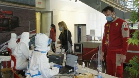 Ferrari Restarts Production In Maranello And Modena Factories