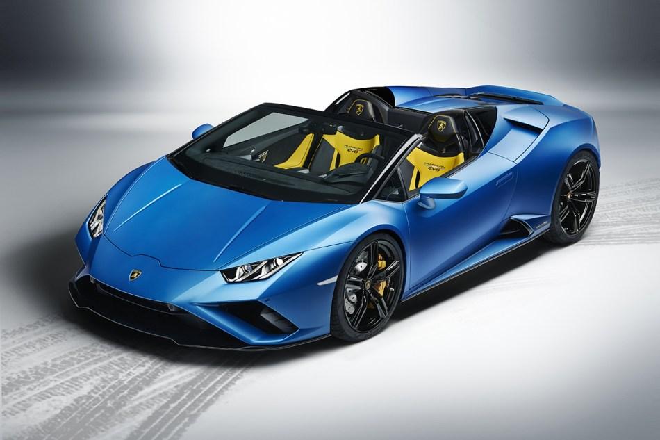 2021 Lamborghini Huracan Evo RWD Spyder Exterior