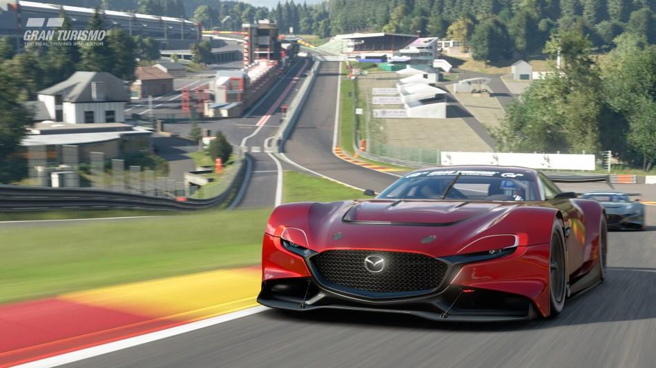 Mazda RX-Vision GT3 Spa Francorchamps
