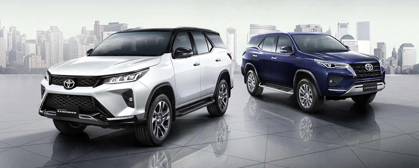 2021 Toyota Fortuner Facelift Debuts With Two Distinct Styles