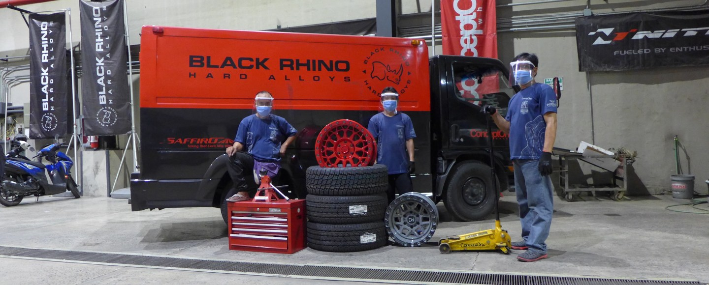Black Rhino Wheels PH Now Offering Home Servicing