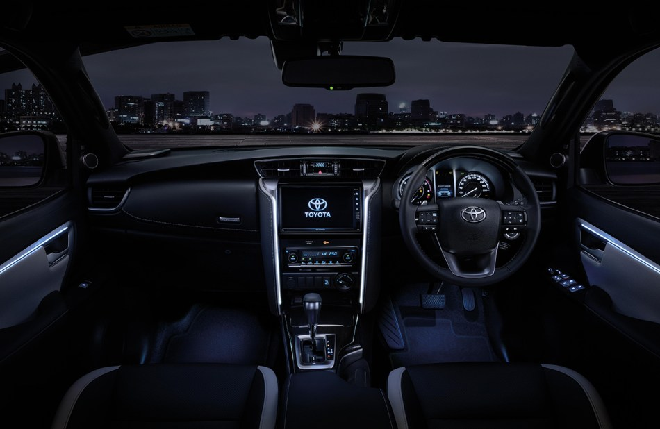 2021 Toyota Fortuner Legender Interior
