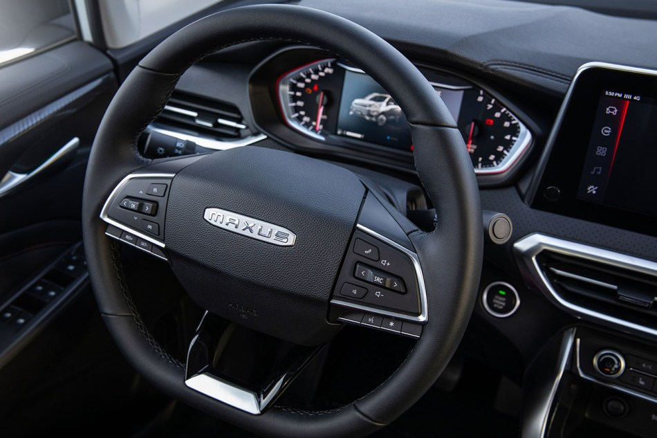 2020 Maxus G50 Interior