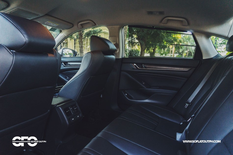 2020 Honda Accord 1.5 EL Turbo Rear Seats