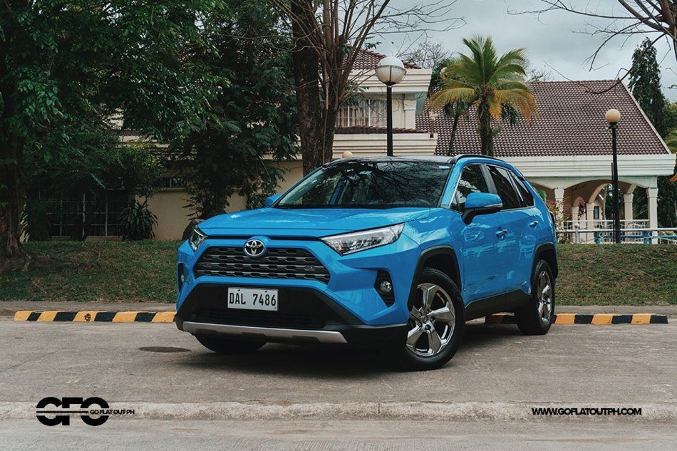 2020 Toyota RAV4 2.5 LTD Exterior