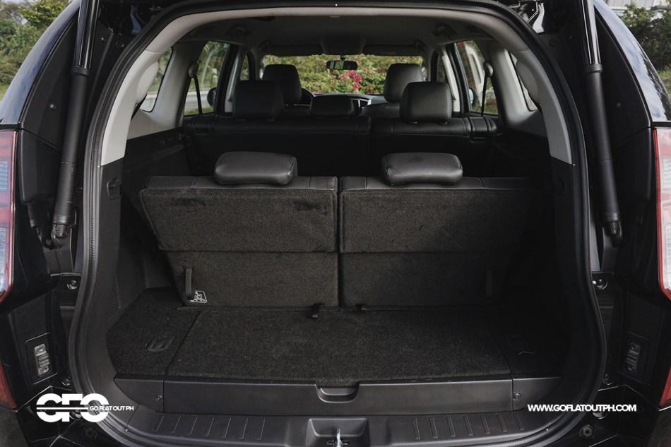 2020 Mitsubishi Montero Sport GT 2WD Trunk Space