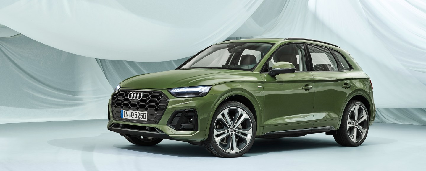Facelifted 2021 Audi Q5 Looks Sharper, Gains Electrified Engines