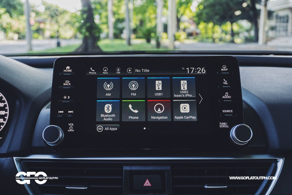2020 Honda Accord 1.5 EL Turbo Infotainment System