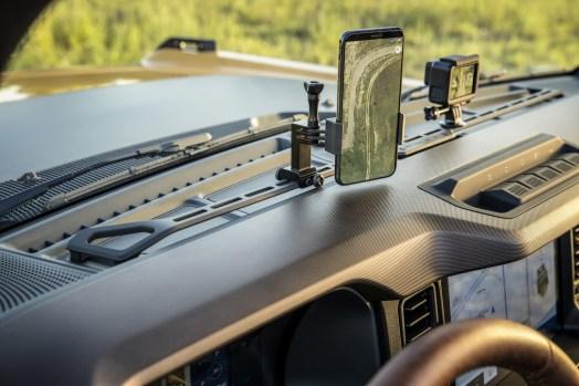 2021 Ford Bronco Interior Rack