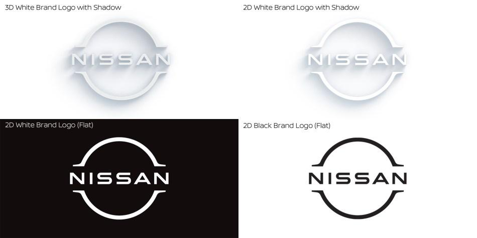 New Nissan Logo Design