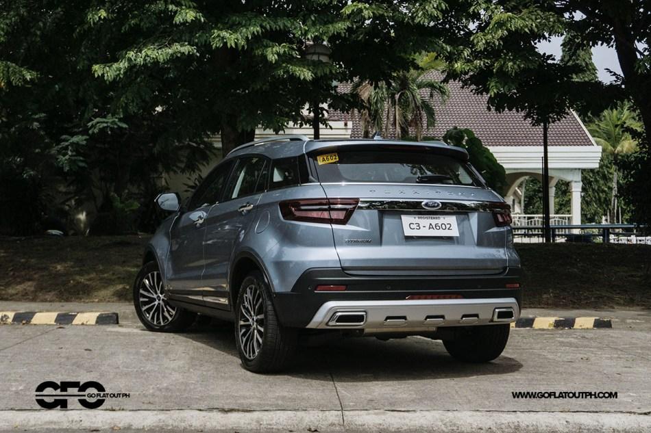 2021 Ford Territory Titanium Rear