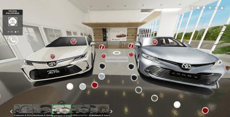 Toyota PH's Latest Virtual Showroom Feels Like A Video Game