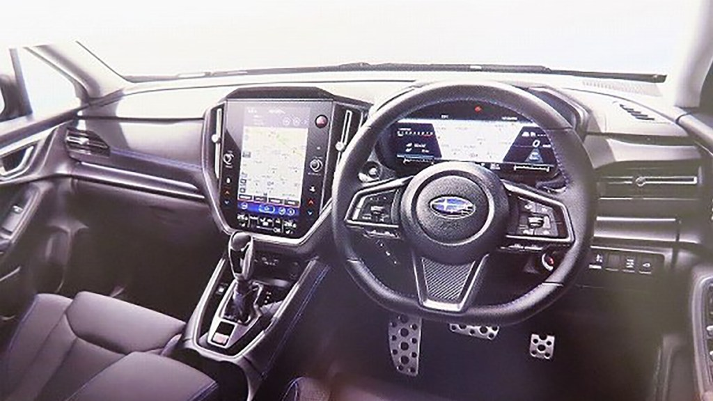 Here's The 2021 Subaru Levorg's Interior Before You're Supposed To See It