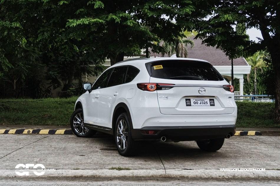 2020 Mazda CX-8 AWD Exclusive Exterior Rear