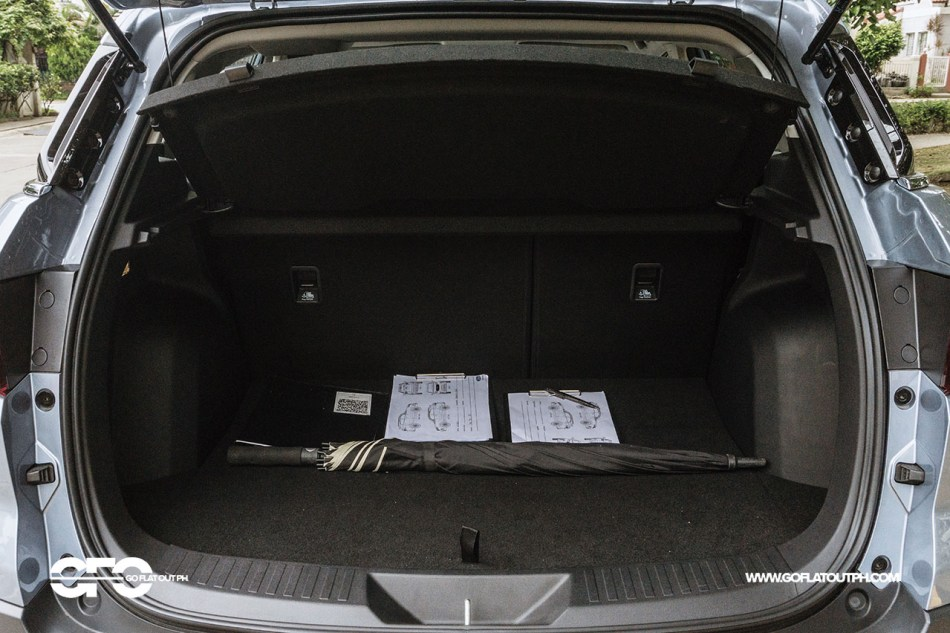 2021 Ford Territory Trunk Space