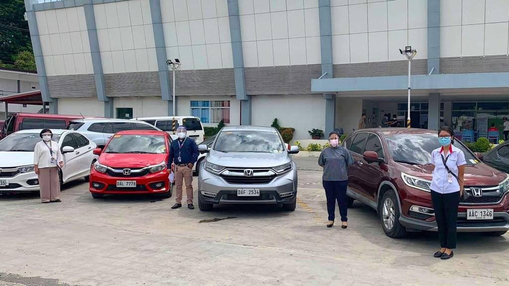 Honda Cars PH Provides 18 Vehicles To Seven Hospitals