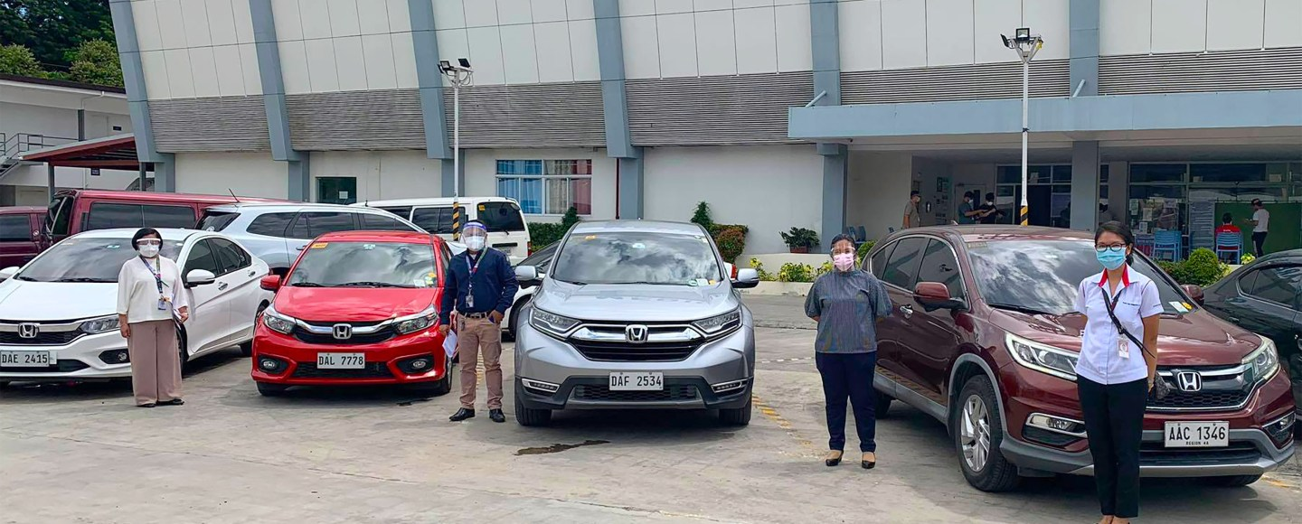Honda Cars PH Provides 18 Vehicles To Seven Hospitals