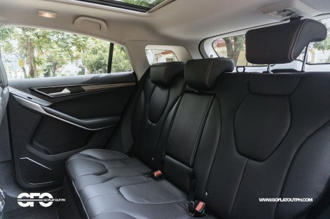 2021 Ford Territory Titanium Rear Seats