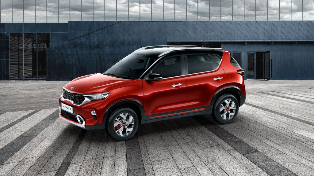 All-New Kia Sonet Is The Brand's Smallest, Most Affordable SUV Yet