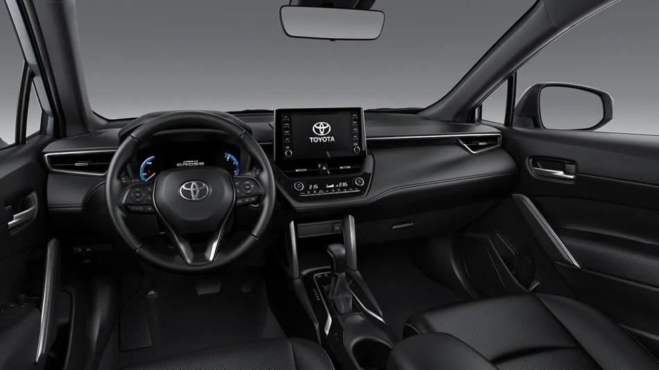 2021 Toyota Corolla Cross 1.8 V Hybrid Interior Philippines
