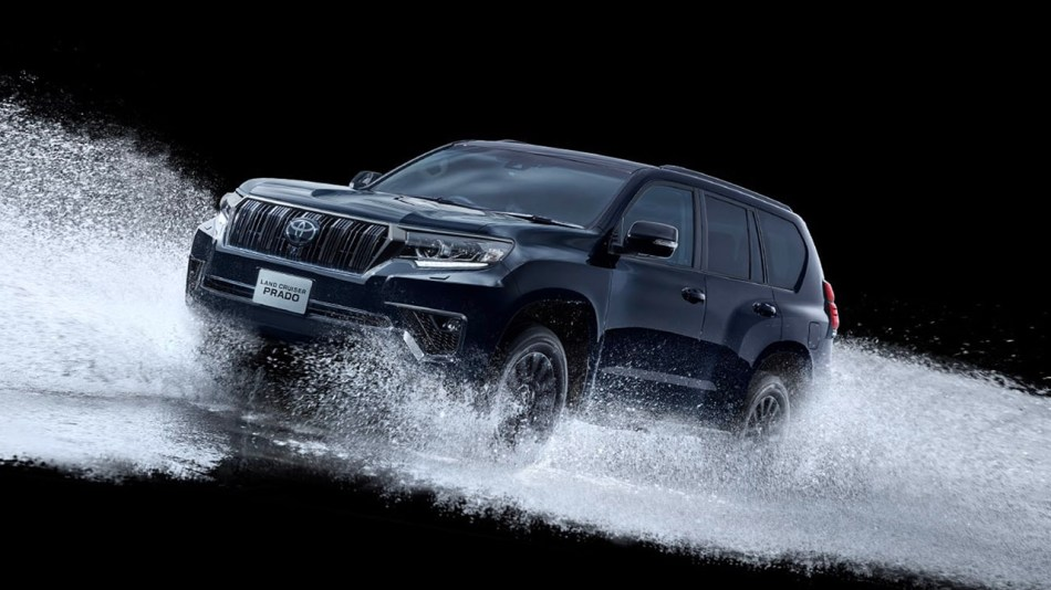 2021 Toyota Land Cruiser Prado Black Edition