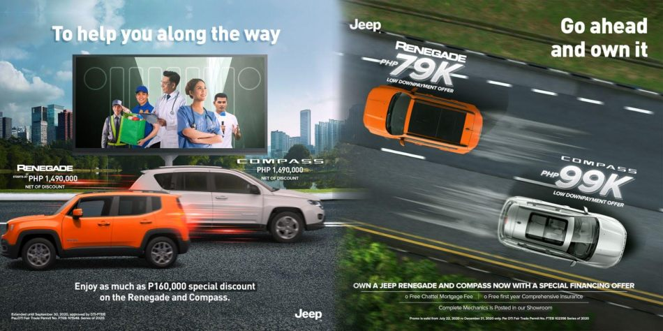 Jeep Philippines Promo September