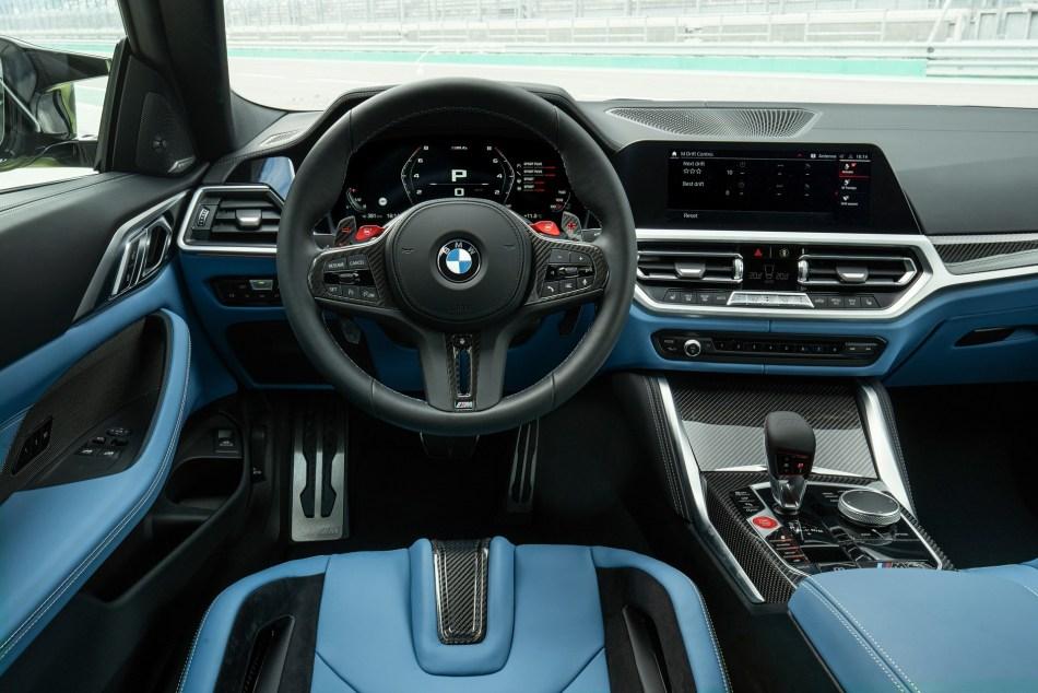 2021 BMW M4 Competition Interior