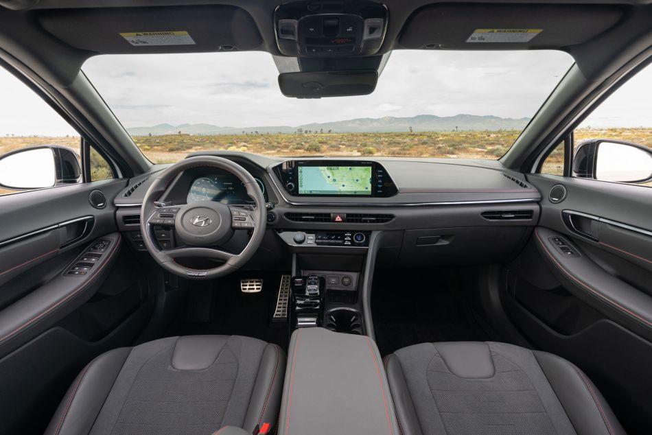 2021 Hyundai Sonata N Line Interior