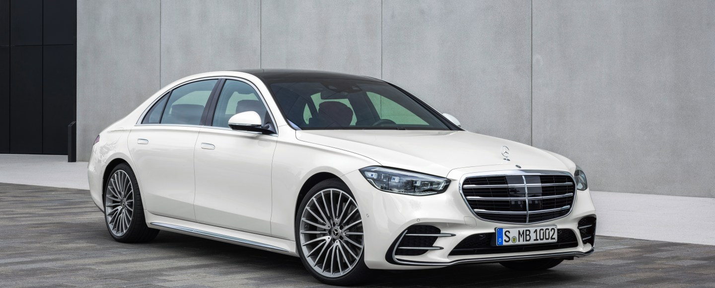 2021 Mercedes-Benz S-Class Revealed In All Its High-Tech Glory