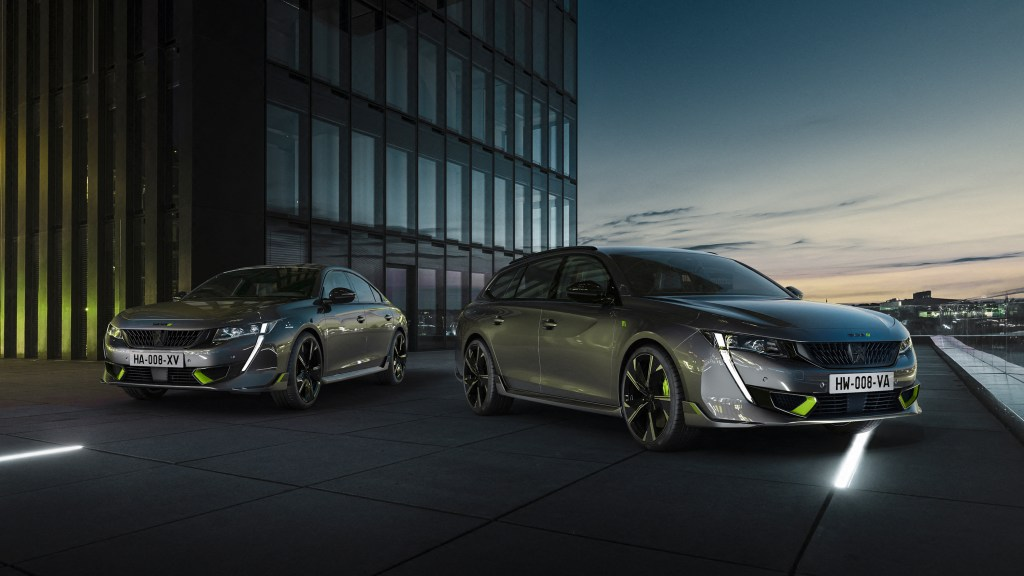 The 2021 Peugeot 508 PSE Is The Brand's Most Powerful Production Car Ever