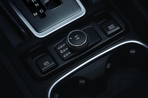 Electric Parking Brake and Drive Mode Selector