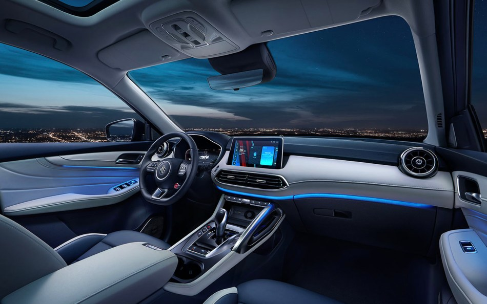2021 MG Pilot Interior