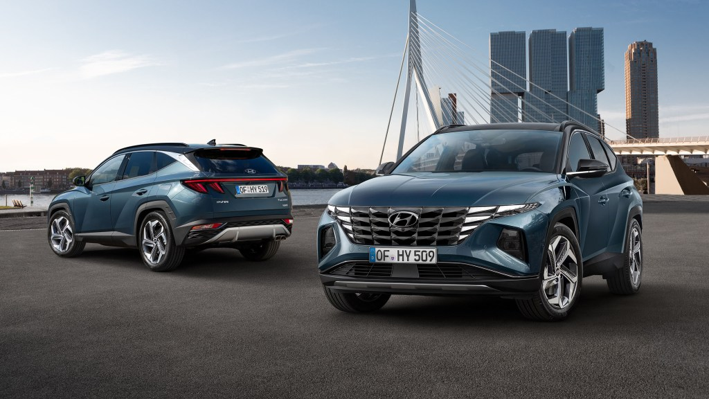 All-New 2021 Hyundai Tucson Has Been Radically Redesigned
