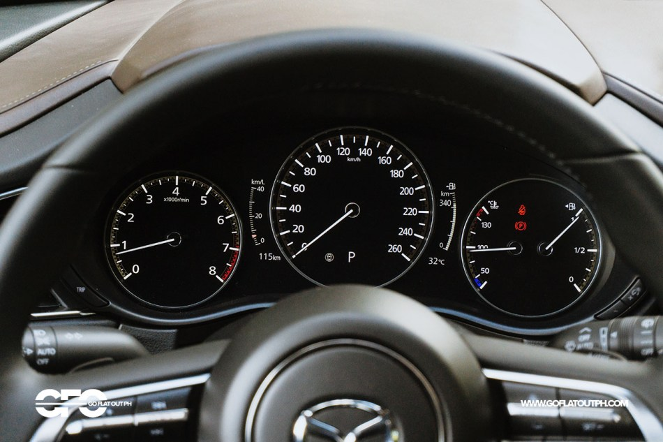 2020 Mazda CX-30 Digital Gauges