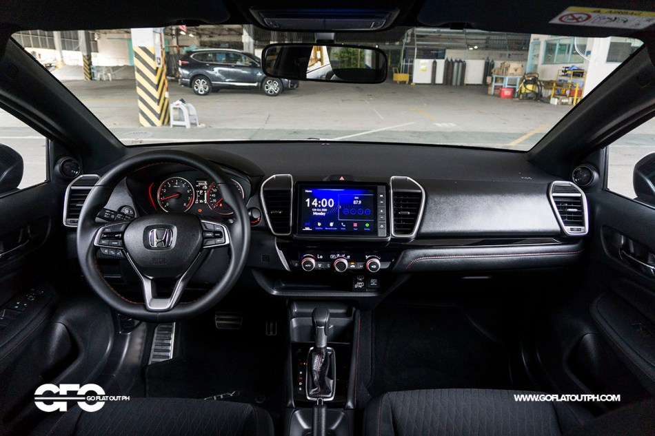 2021 Honda City RS CVT Interior Philippines