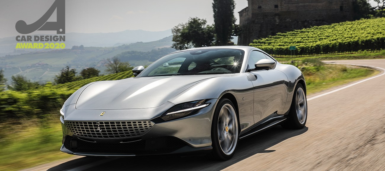 Seductively-Styled Ferrari Roma Wins 2020 Car Design Award