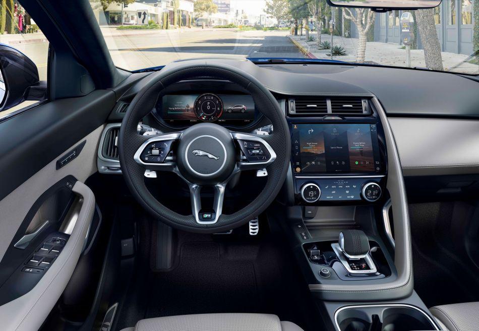 2021 Jaguar E-Pace Interior