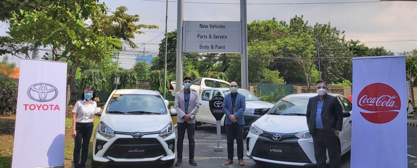Coca-Cola PH Recently Added 200 Toyota Vehicles To Its Fleet