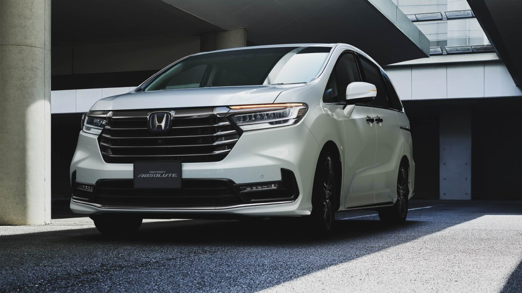 Take A Look At The Facelifted 2021 Honda Odyssey