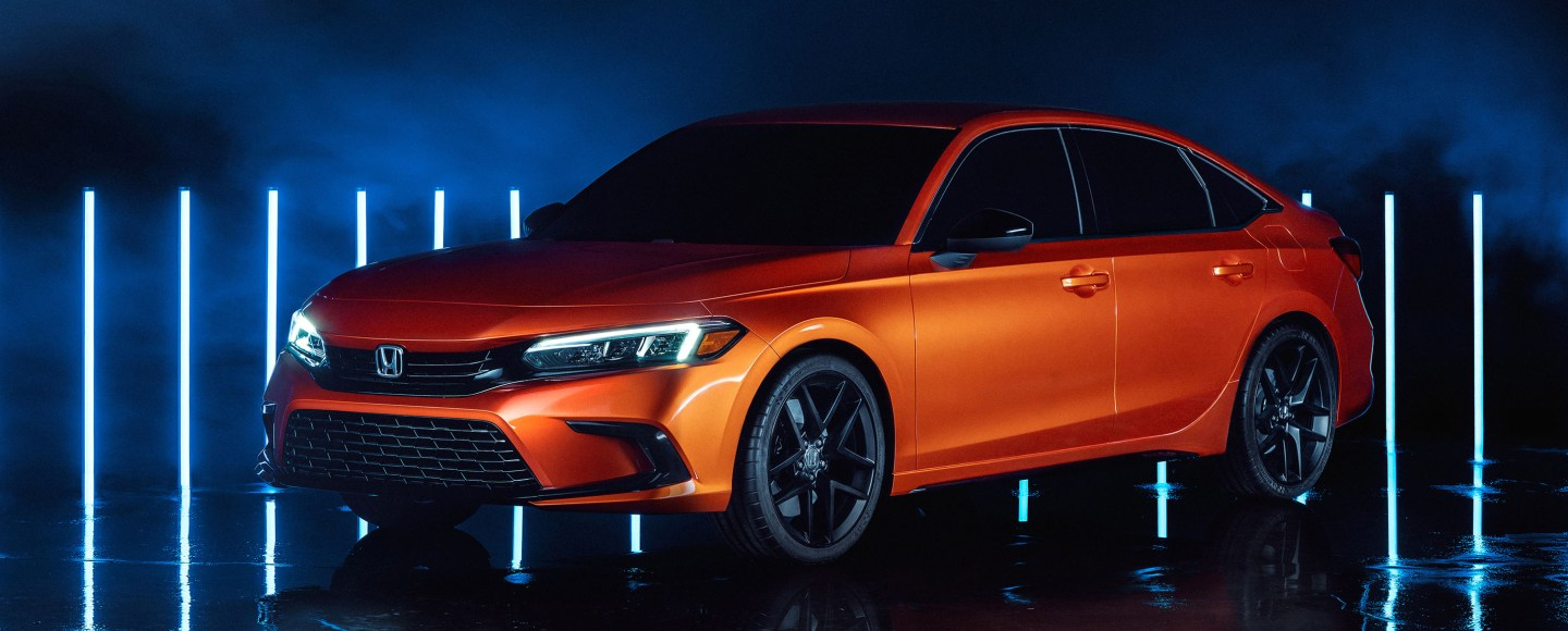 11th Generation Honda Civic Debuts In Pre-Production Form