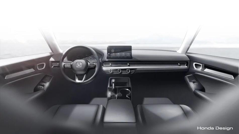 11th Generation Honda Civic Interior