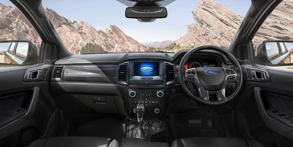 2021 Ford Everest Titanium Interior